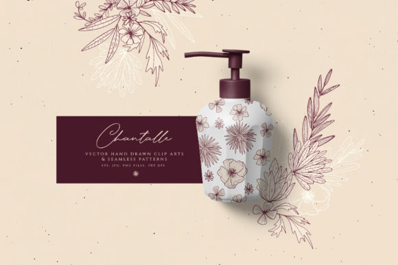 Print on Demand: Chantalle Flowers Graphic Illustrations By webvilla - Image 5