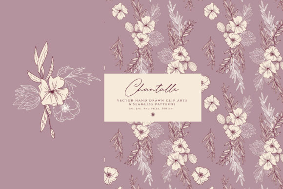 Print on Demand: Chantalle Flowers Graphic Illustrations By webvilla - Image 6