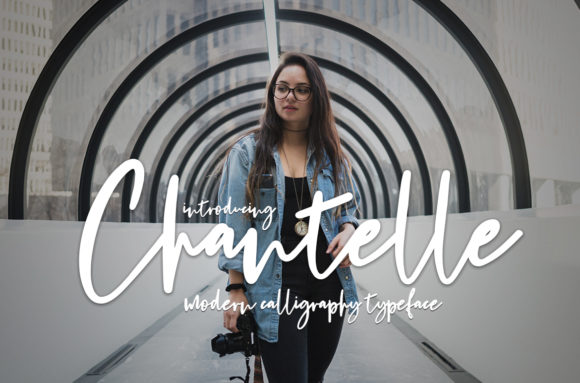 Print on Demand: Chantelle Script & Handwritten Font By Symphony Studio