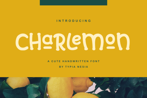Print on Demand: Charlemon Display Schriftarten von Typia Nesia