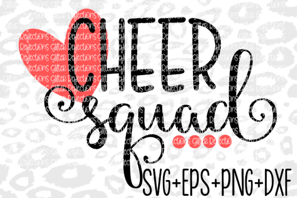 Download Free Cheer Squad Graphic By Kaylabcay21 Creative Fabrica for Cricut Explore, Silhouette and other cutting machines.