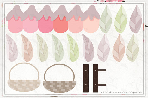 Print on Demand: Cherry Blossoms 04 Pink and Peach Graphic Illustrations By Michelle Alzola - Image 5
