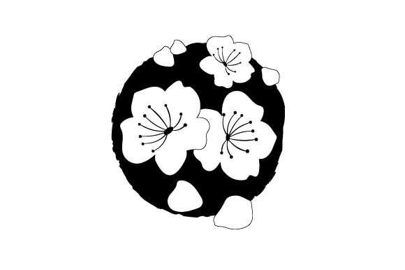 Download Free Cherry Blossoms Tattoos Svg Cut File By Creative Fabrica Crafts for Cricut Explore, Silhouette and other cutting machines.