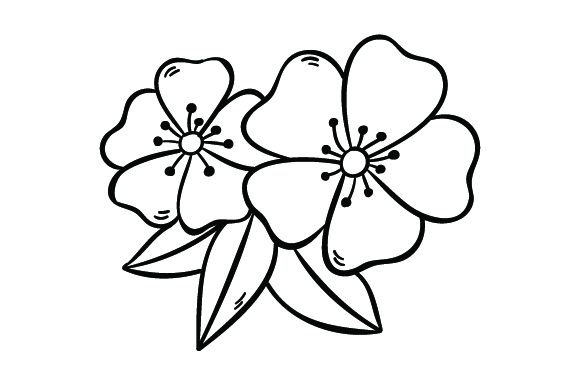 Download Free Cherry Blossoms Svg Plotterdatei Von Creative Fabrica Crafts for Cricut Explore, Silhouette and other cutting machines.