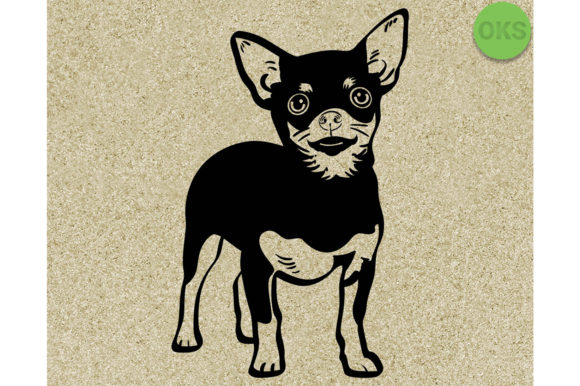Download Free Chihuahua Vector Graphic By Crafteroks Creative Fabrica for Cricut Explore, Silhouette and other cutting machines.