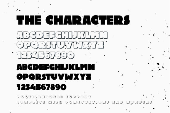 Print on Demand: Chill Time Display Font By Caoca Studios - Image 2