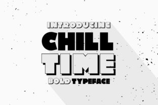 Chill Time Font By Caoca Studios