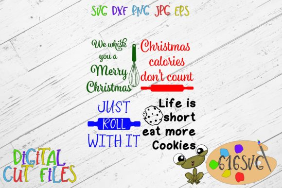 Download Free Christmas Bundle Grafico Por 616svg Creative Fabrica for Cricut Explore, Silhouette and other cutting machines.