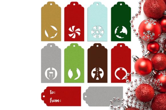 Christmas Hanukkah Holiday Gift Tags  Graphic Crafts By DesignedByGeeks