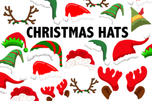 Download Free Christmas Hat Clipart Graphic By Mine Eyes Design Creative Fabrica for Cricut Explore, Silhouette and other cutting machines.