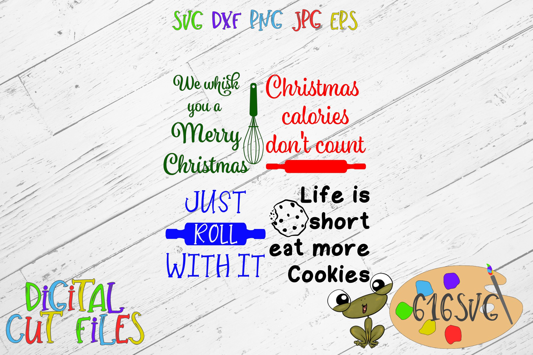 Download Free Christmas Potholder Designs Svg Graphic By 616svg Creative Fabrica for Cricut Explore, Silhouette and other cutting machines.