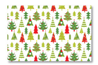 Download Free Christmas Tree Seamless Pattern Graphic By Astriagiovanni1308 for Cricut Explore, Silhouette and other cutting machines.