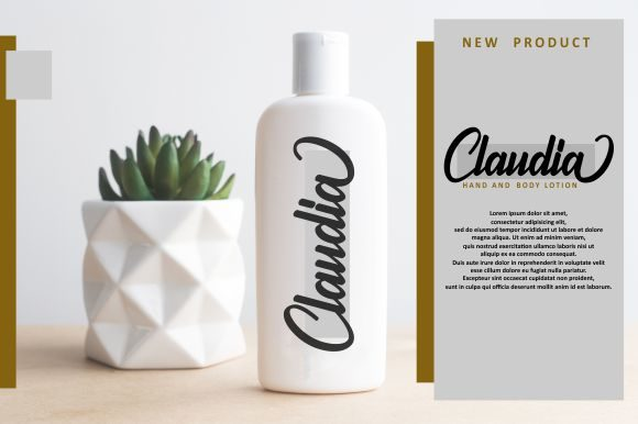 Print on Demand: Claymale Script & Handwritten Font By Ditoollis Project - Image 5
