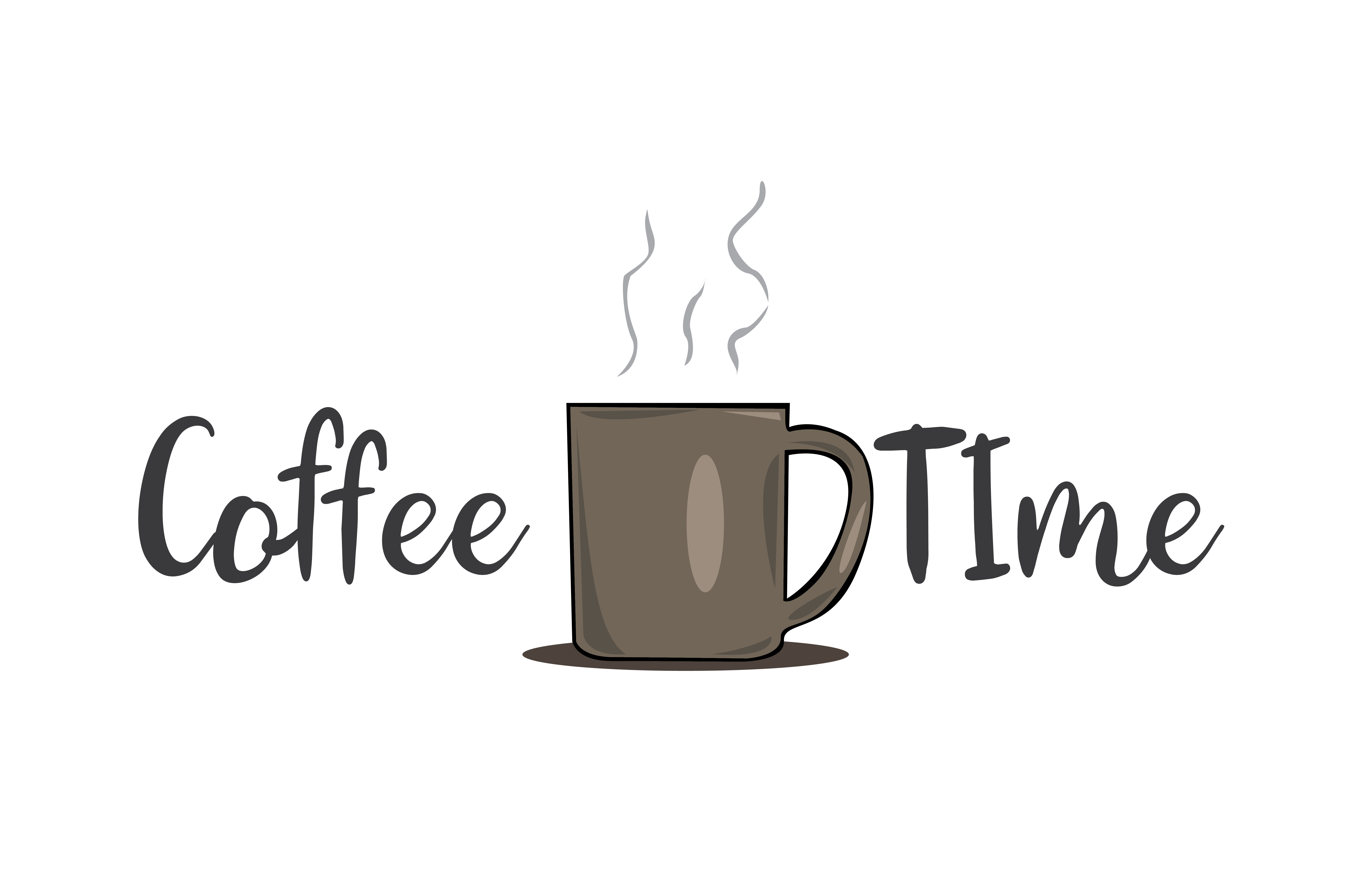 Download Free Coffee Time Grafik Von Rfg Creative Fabrica for Cricut Explore, Silhouette and other cutting machines.