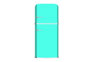 Colorful Refrigerators Kitchen Craft Cut File By Creative Fabrica Crafts
