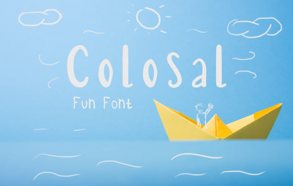 Colosal Font By Arendxstudio Image 1