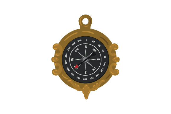 Compass Pirates Craft Cut File By Creative Fabrica Crafts