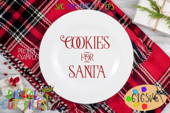 Download Free Cookies For Santa Svg Graphic By 616svg Creative Fabrica SVG Cut Files
