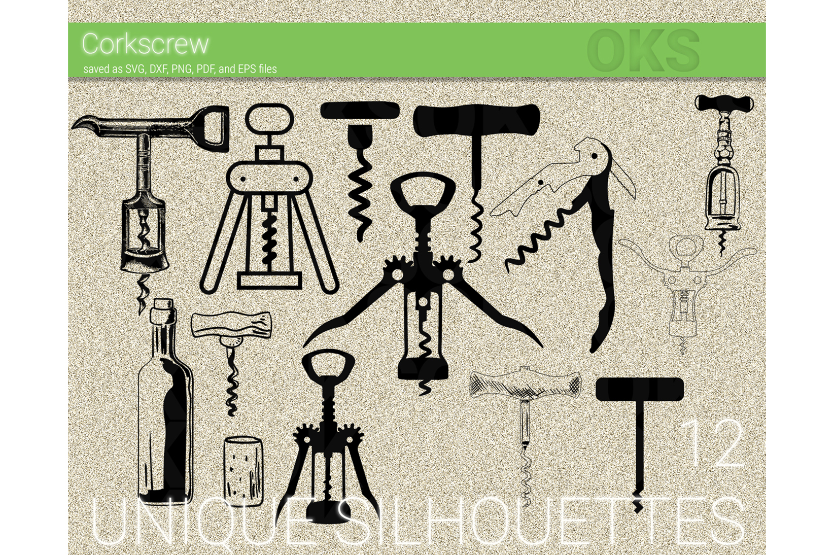 Download Free Corkscrew Vector Graphic By Crafteroks Creative Fabrica SVG Cut Files