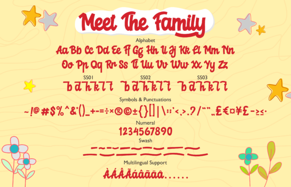 Print on Demand: Crellay Display Font By Holydie Studio - Image 2