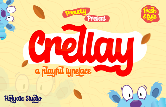 Crellay Display Font By Holydie Studio