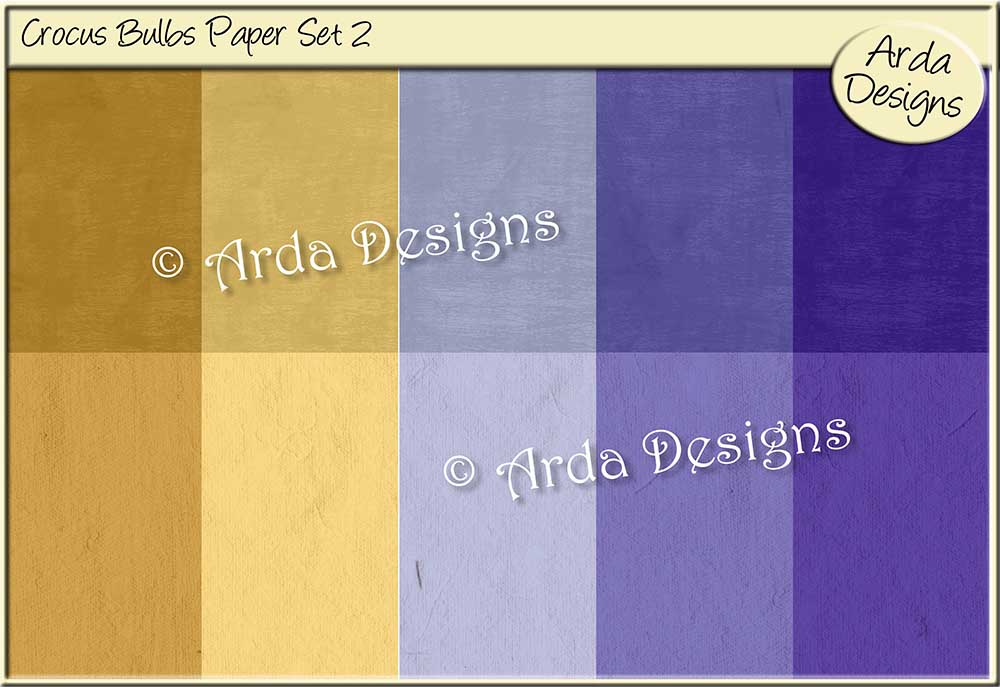 Download Free Crocus Bulbs Paper Set 2 Graphic By Arda Designs Creative Fabrica for Cricut Explore, Silhouette and other cutting machines.