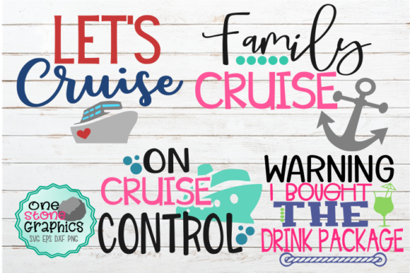 Cruise Bundle Svg Graphic Crafts By OneStoneGraphics