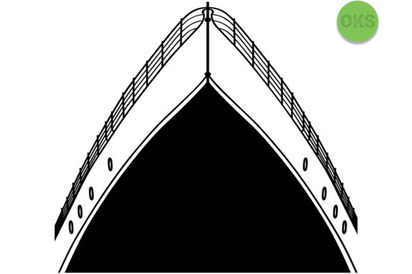 Download Free Cruise Ship Vector Graphic By Crafteroks Creative Fabrica for Cricut Explore, Silhouette and other cutting machines.