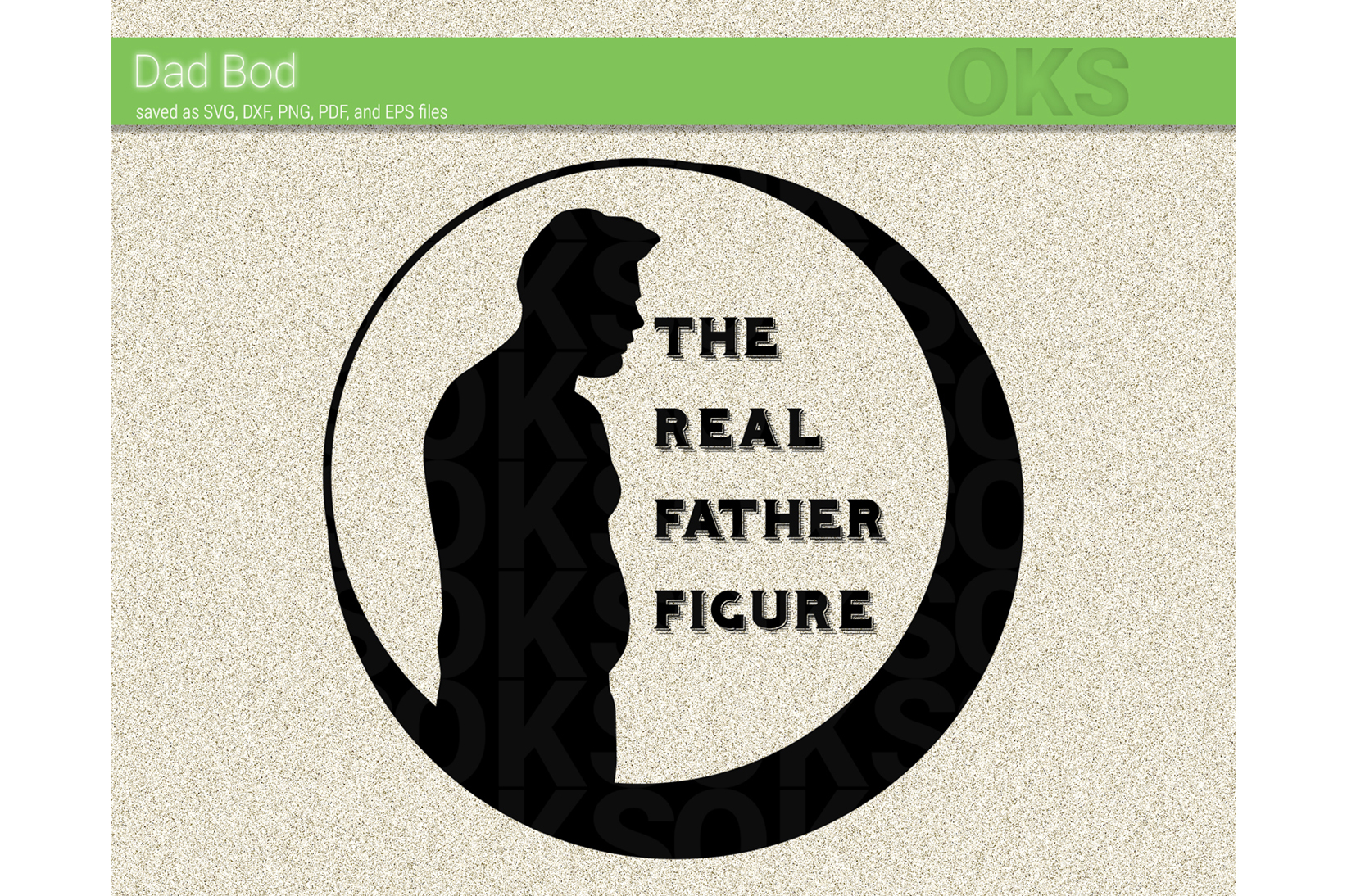 Download Free Dad Bod Svg Vector Graphic By Crafteroks Creative Fabrica for Cricut Explore, Silhouette and other cutting machines.