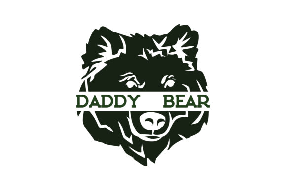 Download Free Daddy Bear Quote Svg Cut Graphic By Thelucky Creative Fabrica SVG Cut Files
