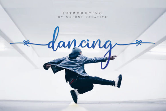 Print on Demand: Dancing Script & Handwritten Font By wdfont.creative - Image 1