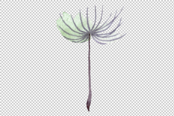 Print on Demand: Dandelion Summer Greeting Watercolor Png Graphic Illustrations By MyStocks - Image 4