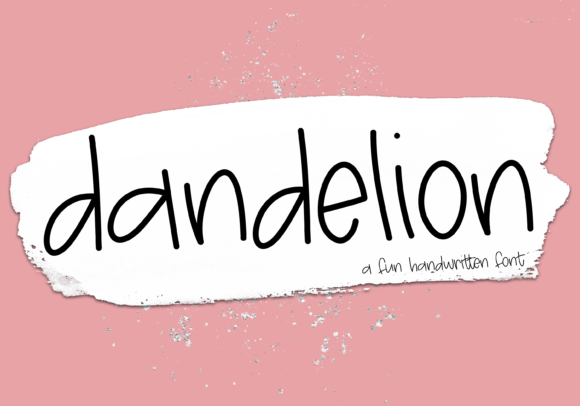 Print on Demand: Dandelion Display Font By KA Designs
