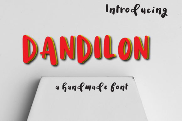 Print on Demand: Dandilon Display Font By Autumn Designs