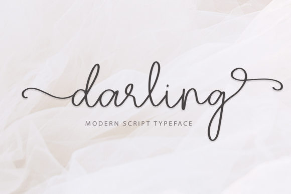 Print on Demand: Darling Script & Handwritten Font By paulhewittype - Image 1