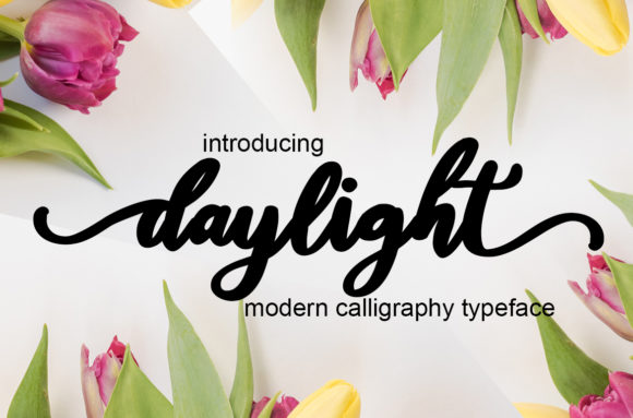 Print on Demand: Daylight Script & Handwritten Font By Mrletters