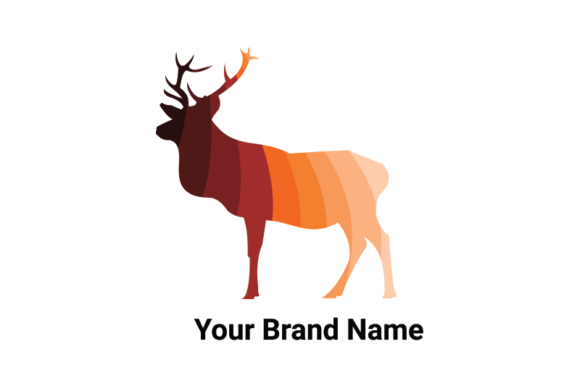 Download Free Deer Logo Graphic By Nirmala Graphics Creative Fabrica for Cricut Explore, Silhouette and other cutting machines.