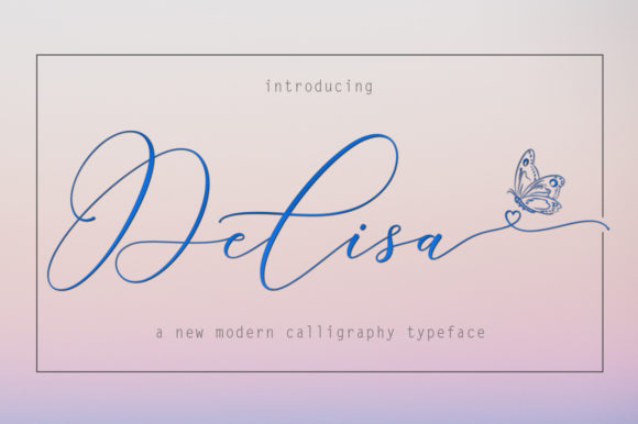 Print on Demand: Delisa Script & Handwritten Font By Rudistudio
