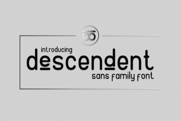 Print on Demand: Descendent Sans Serif Font By gumacreative