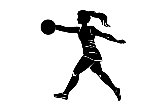 Download Free Detailed Sports Silhouette For Netball Svg Cut File By Creative for Cricut Explore, Silhouette and other cutting machines.