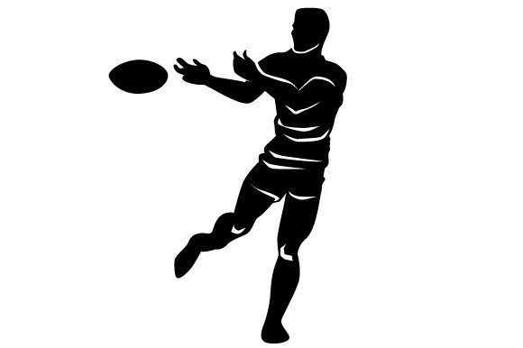 Download Free Detailed Sports Silhouette For Rugby Svg Cut File By Creative SVG Cut Files