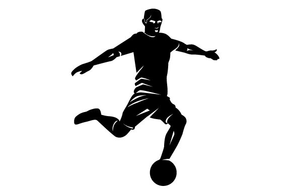 Detailed Sports Silhouette for Soccer Sports Craft Cut File By Creative Fabrica Crafts