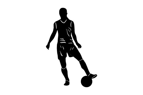 Download Free Detailed Sports Silhouette For Soccer Svg Cut File By Creative for Cricut Explore, Silhouette and other cutting machines.