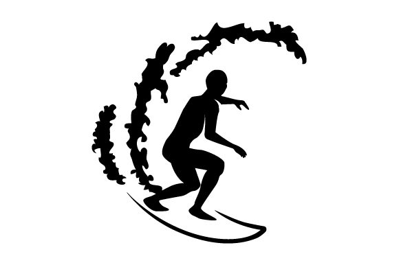 Download Free Detailed Sports Silhouette For Surfing Svg Cut File By Creative for Cricut Explore, Silhouette and other cutting machines.