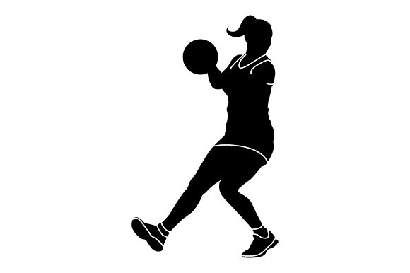 Download Free Detailed Sports Silhouettes For Netball Svg Cut File By Creative for Cricut Explore, Silhouette and other cutting machines.