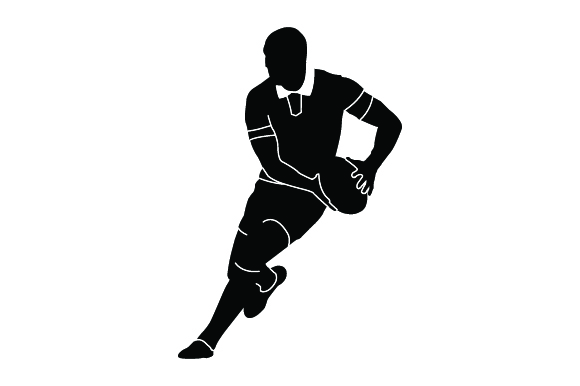 Download Free Detailed Sports Silhouettes For Rugby Archivos De Corte Svg Por for Cricut Explore, Silhouette and other cutting machines.