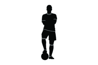 Detailed Sports Silhouettes for Soccer Sports Craft Cut File By Creative Fabrica Crafts