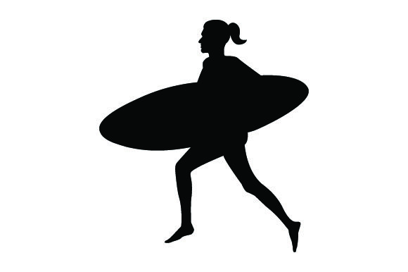 Detailed Sports Silhouettes for Surfing Sports Craft Cut File By Creative Fabrica Crafts
