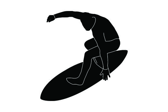 Download Free Detailed Sports Silhouettes For Surfing Svg Cut File By Creative for Cricut Explore, Silhouette and other cutting machines.