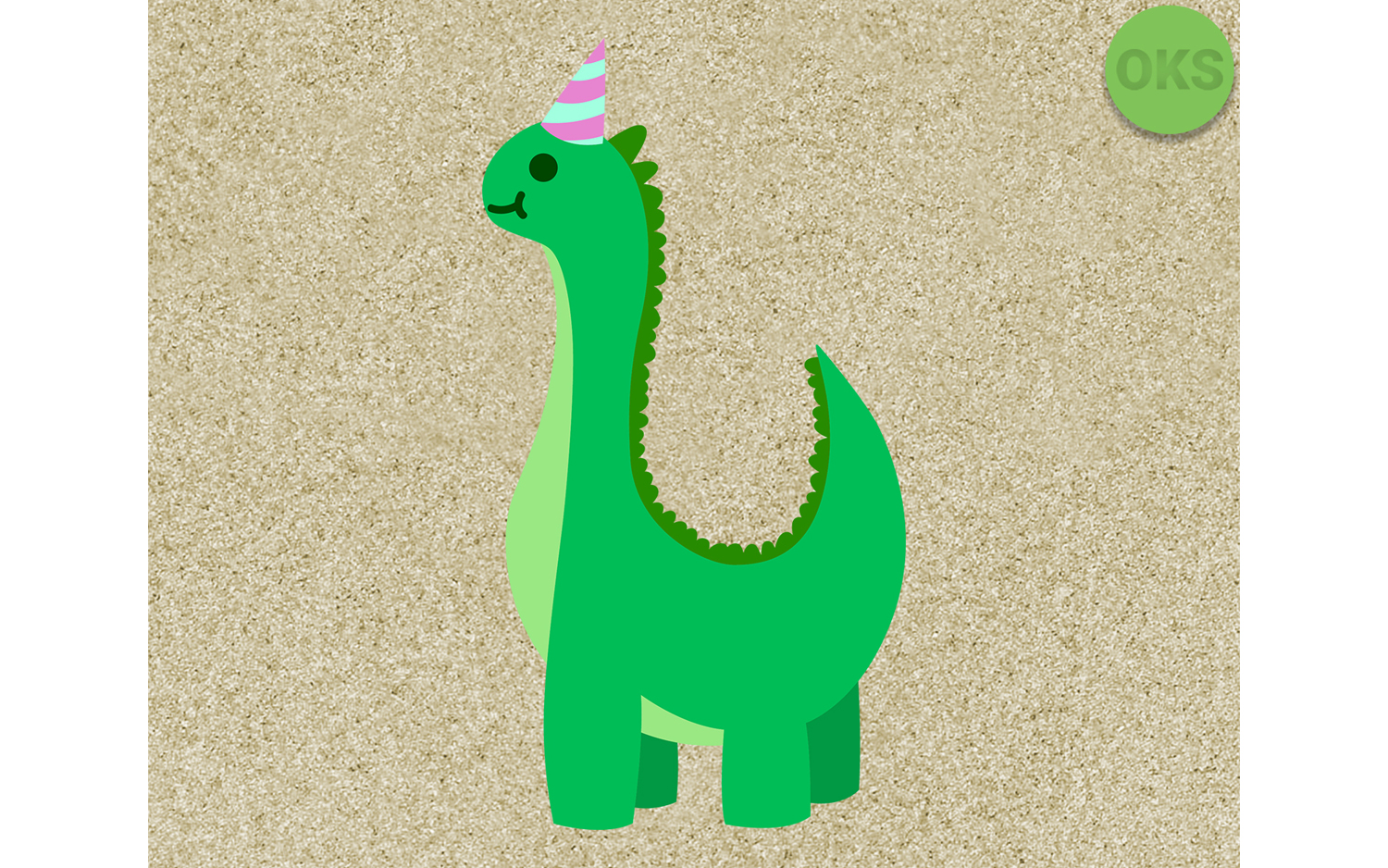 Download Free Dino Birthday Party Dinosaur Svg Vector Graphic By Crafteroks for Cricut Explore, Silhouette and other cutting machines.
